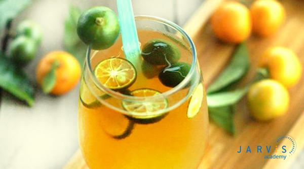 Trà tắc mật ong là thức uống phổ biến tại các tỉnh miền Nam