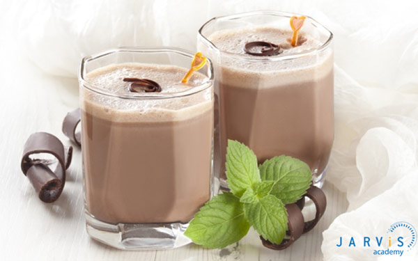 Cách làm trà sữa socola bạc hà đơn giản
