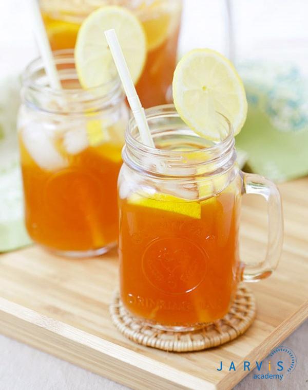 Cách pha trà chanh thanh long so ri