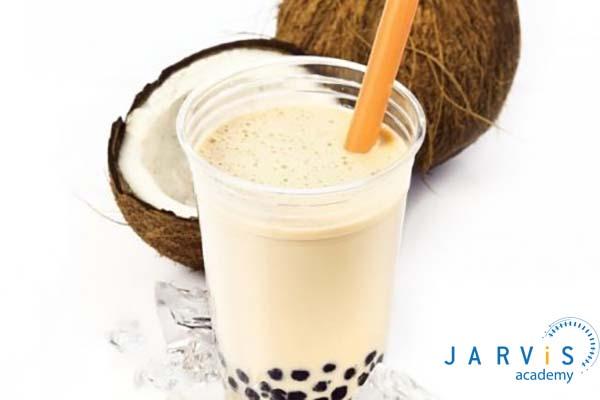 Trà sữa trân châu vị dừa