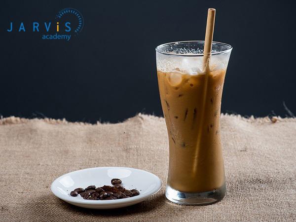 Cách pha cà phê sầu riêng lạnh