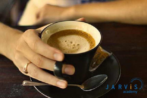 Cafe sầu riêng nóng