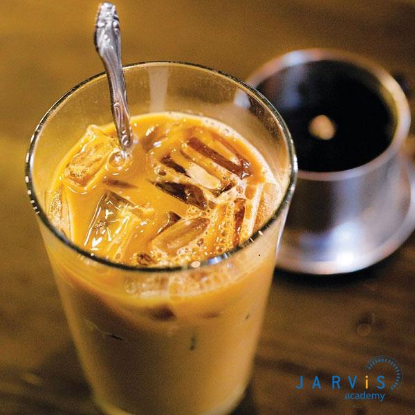 Thưởng thức ly cafe sầu riêng