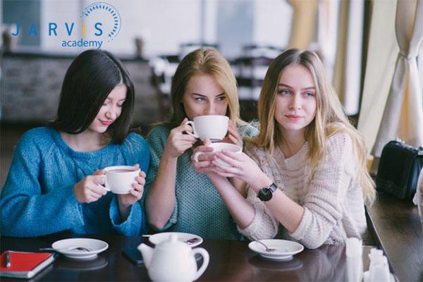 Thưởng thức cafe Cappuccino