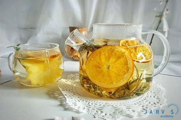 Cách làm trà hoa quả khô