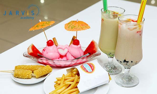 Quán trà sữa kèm đồ ăn vặt sẽ giúp chủ quán mở rộng nhóm đối tượng khách hàng
