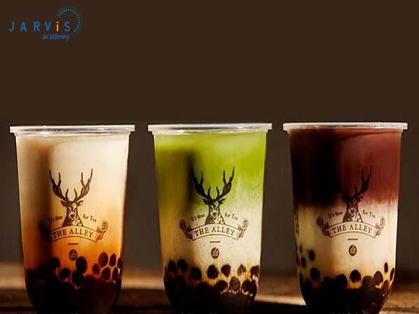 Nhiều hãng trà sữa nhượng quyền như Tocotoco, The Alley, Goki… với các mức giá khác biệt