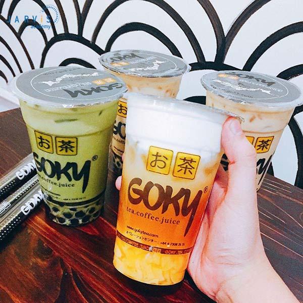 Goky nổi tiếng với các loại trà đến từ Nhật Bản