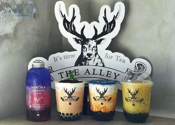 The Alley cũng hướng đến tệp khách hàng có thu nhập bởi giá mỗi ly trà sữa thường ở mức khá cao