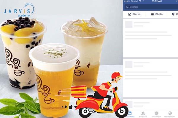 Kinh doanh trà sữa online là hình thức phổ biến hiện nay