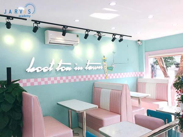 Ý tưởng kinh doanh quán trà sữa bánh bèo với phong cách nữ tính, lãng mạn