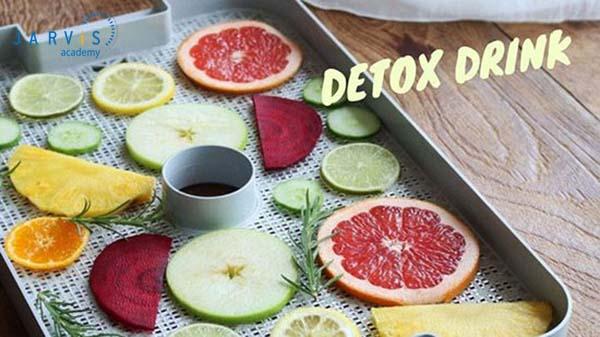 Cách làm trà hoa quả detox tươi rất đơn giản, vị ngon chuẩn quán
