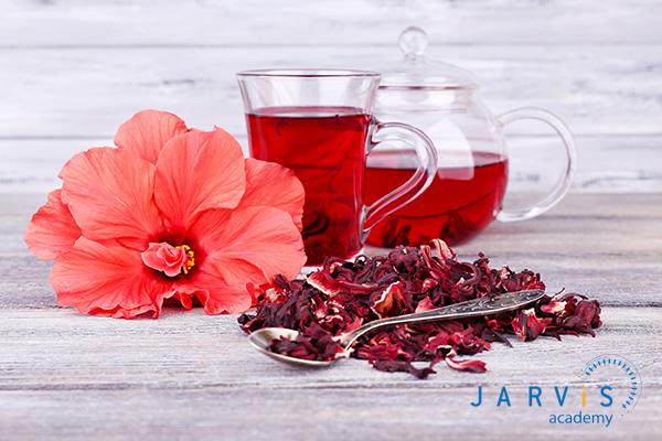 Trà hoa dâm bụt uống nóng sẽ mang đến hương vị thơm ngon hơn