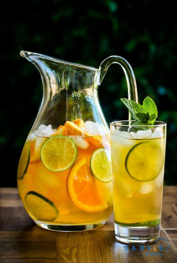 Trà lạnh cam quýt hợp với khẩu vị của nhiều người, có thể sử dụng làm thức uống giải khát mùa hè